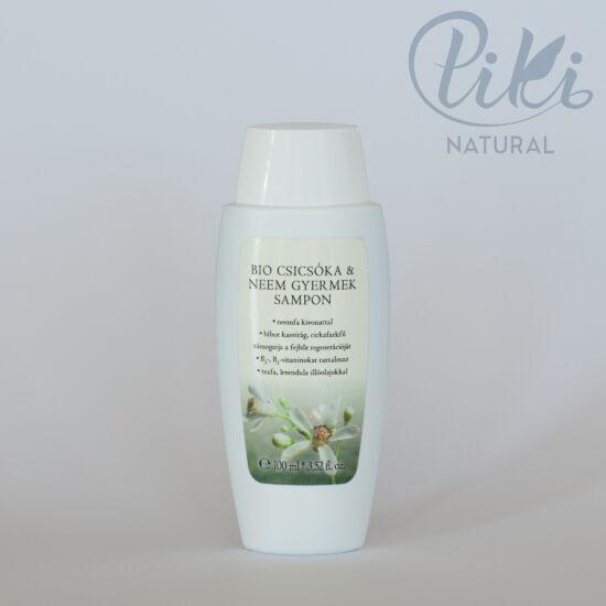 Bio Csicsóka és Neem Gyermek Sampon (100 ml) BIOLA