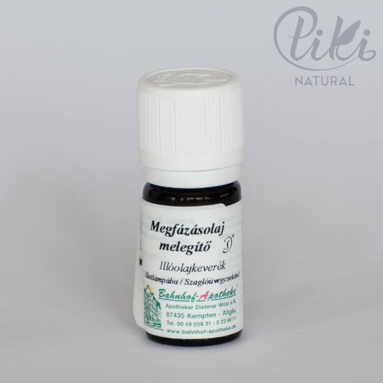 Megfázás elleni melegítő olaj (5 ml) - Stadelmann termék