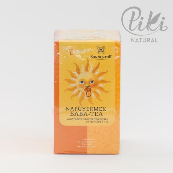 Sonnentor Napgyermek baba-biotea (20 filter)