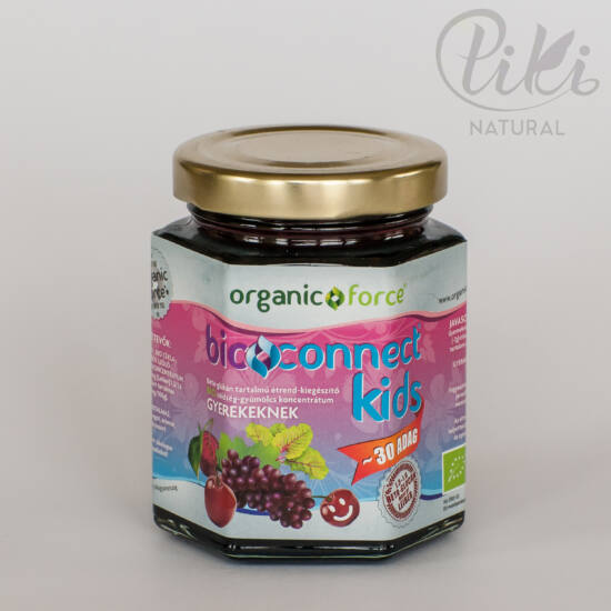 Bioconnect Kids multivitamin - bio növényi koncentrátum béta-glükánnal (210 g)