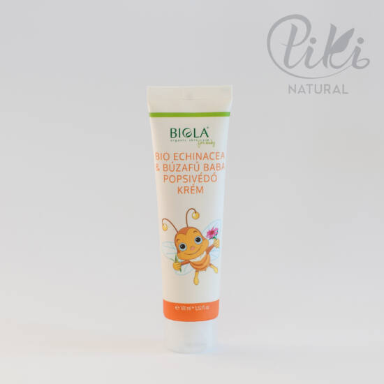 Bio Echinacea és Búzafű Baba Popsivédő Krém - BIOLA- 100 ml