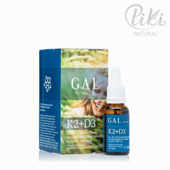 GAL K2 D3 étrendkiegészítő cseppek (20 ml)