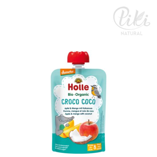CROCO COCO alma mangóval és kókuszdióval -BIO gyümölcspüré- 100g –HOLLE
