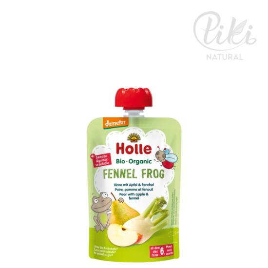 FENNEL FROG körte almával és édesköménnyel -BIO gyümölcspüré- 100g –HOLLE
