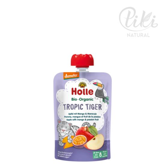 TROPIC TIGER alma mangóval és maracujával  -BIO gyümölcspüré- 100g –HOLLE
