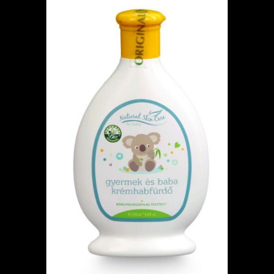 Natural Skin Care Gyermek és Baba Krémhabfürdő (250 ml) - Biola