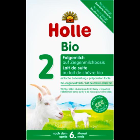 Holle Bio Kecsketej alapú 2-es csecsemőtápszer 400g