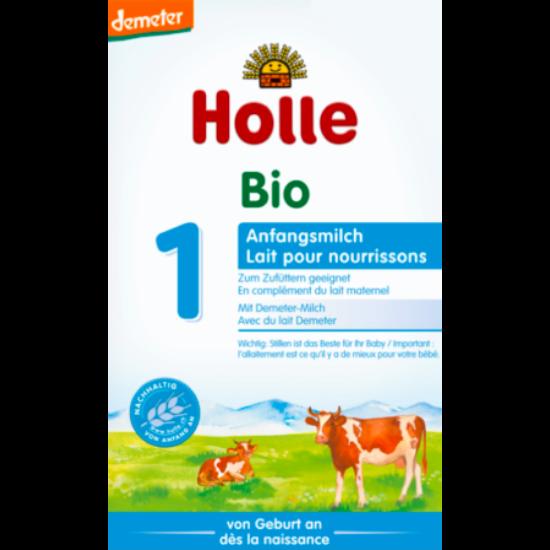 Holle Bio Tehéntej alapú 1-es csecsemőtápszer 400g