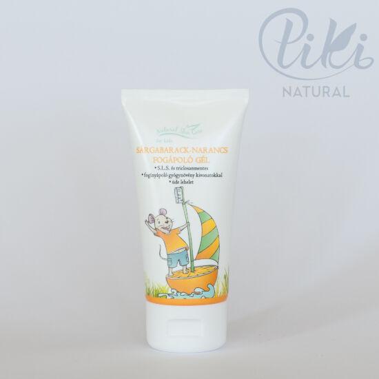 Natural Skin Care Sárgabarack- narancs fogápoló gél (50 ml) - BIOLA