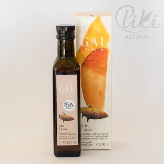 GAL Q10 koenzimes lazacolaj, 3300 mg Omega-3 + 100 mg Q10/evőkanál