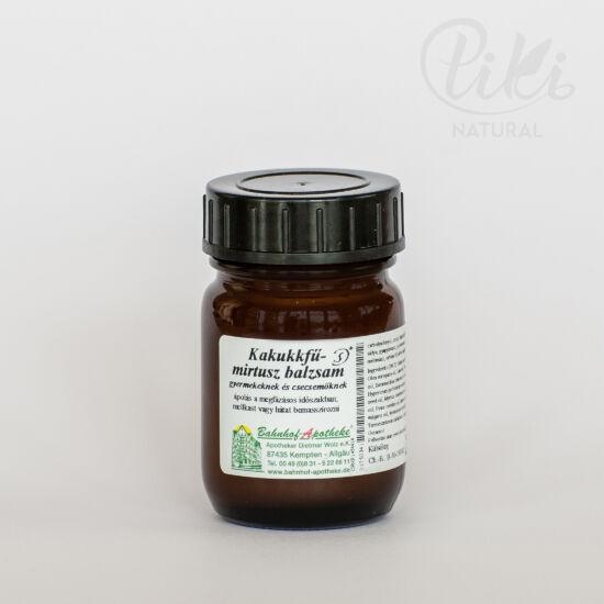 Kakukkfű-mirtusz balzsam gyerekeknek (köhögésbalzsam) - 30 ml - Stadelmann termék
