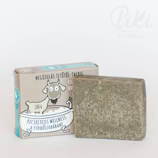 Kecsketej szappan, Holt-tengeri iszappal (100 g) - Natur Tanya